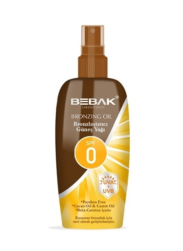 Bebak Bebak Bronzing Oil Spray 150ml Renksiz